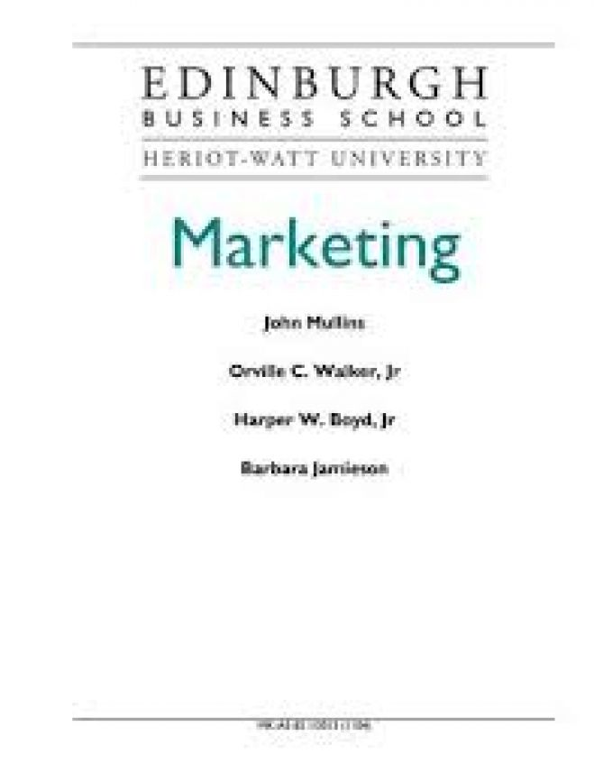 Marketing (PDF) - John Mullins.